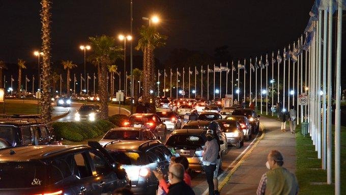 Polémica en Tigre: vecinos de un country marcharon contra la cuarentena y el intendente los denunció