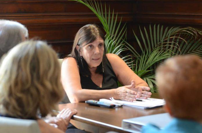 Teresa García, ministra de Gobierno de Axel Kicillof