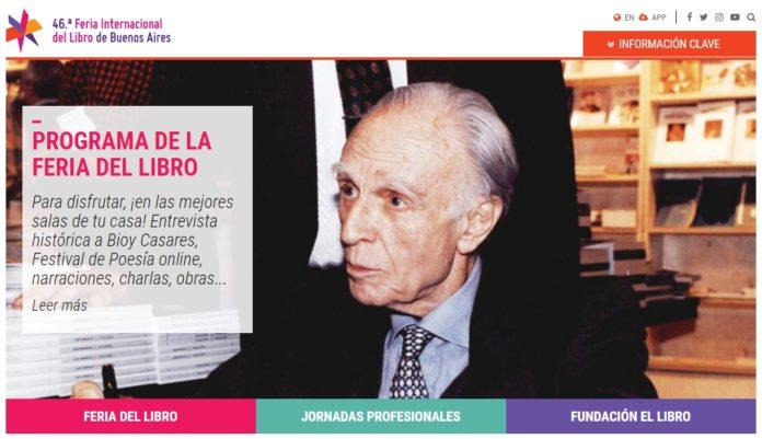 Adolfo Bioy Casares, entre las propuestas virtuales de la Fundación El Libro.