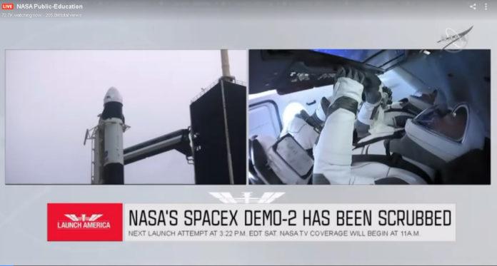 Posponen el lanzamiento de la nave Crew Dragon para este sábado por las condiciones climáticas
