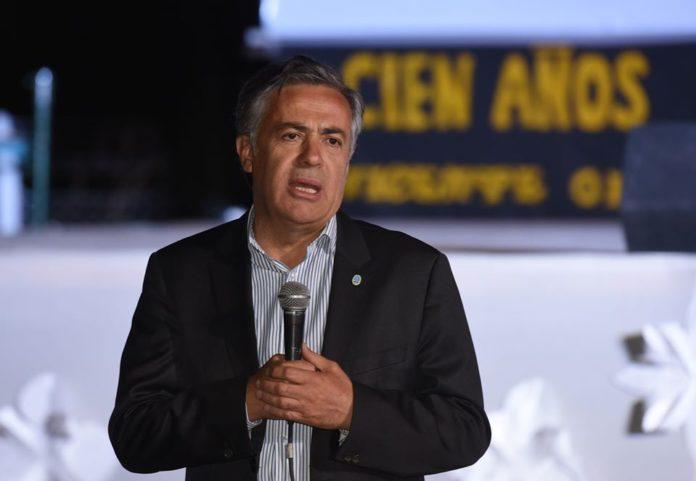 Cornejo se mostró enojado por el Gobierno nacional por la pulseada con otras provincias por una megaobra en Mendoza