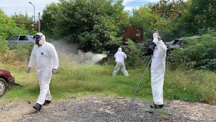 Tres de febrero, uno de los municipios más afectados por el dengue