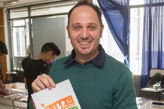 El director de promoción de Masculinidades por la Igualdad, Ariel Sánchez
