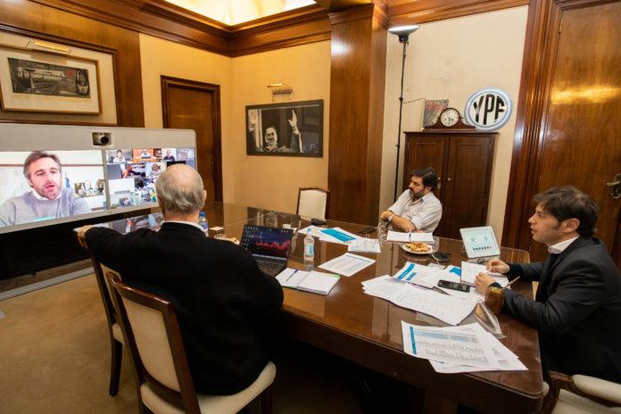 """Kicillof con intendentes: """"Pasada esta tormenta vamos a ver los resultados"""""""