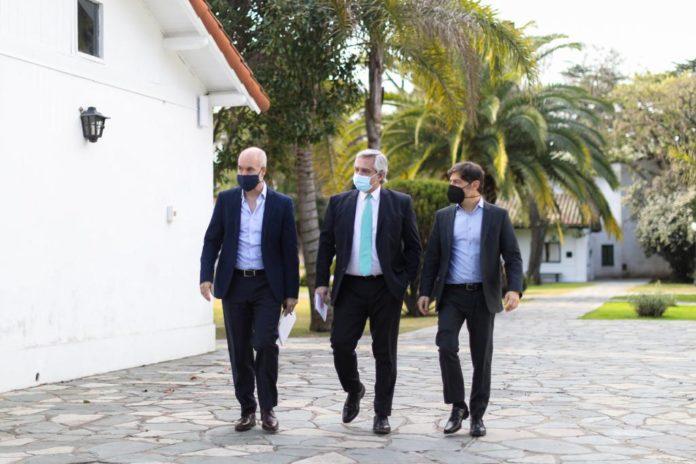 """Kicillof agradeció a Rodríguez Larreta y dijo que """"no hay forma que nos hagan pelear"""""""