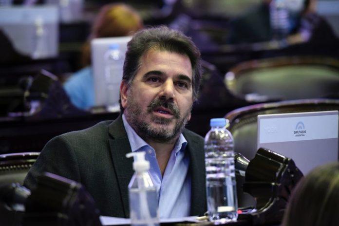 El exministro de Seguridad bonaerense y actual diputado nacional, Cristian Ritondo