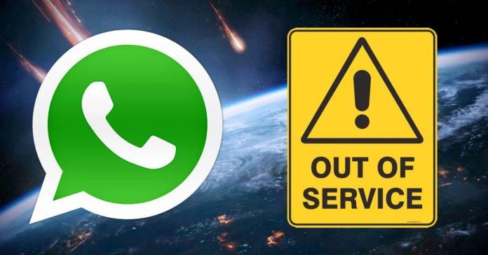 Whatsapp caído: el servicio estuvo interrumpido media hora en todo el mundo