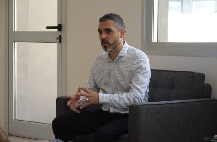 Cristian Girard, director ejecutivo de la la Agencia de Recaudación bonaerense. (Prensa ARBA)