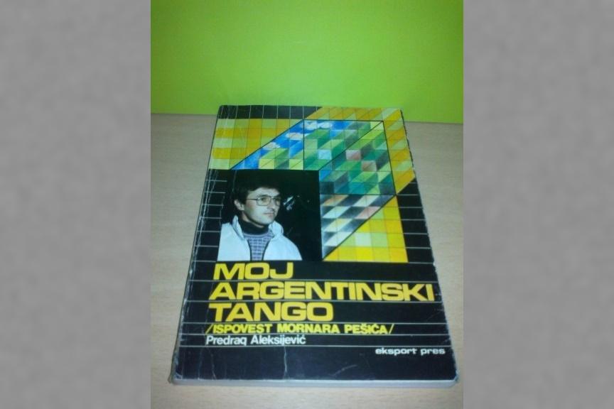 """Cubierta de """"Moj Argentinski tango"""". (Amazon)"""