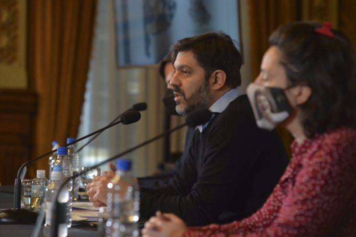 Carlos Bianco, el jefe de Gabinete de la provincia de Buenos Aires