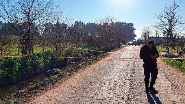 Femicidio en Guernica: hallan el cuerpo de una mujer dentro de una bolsa de arpillera