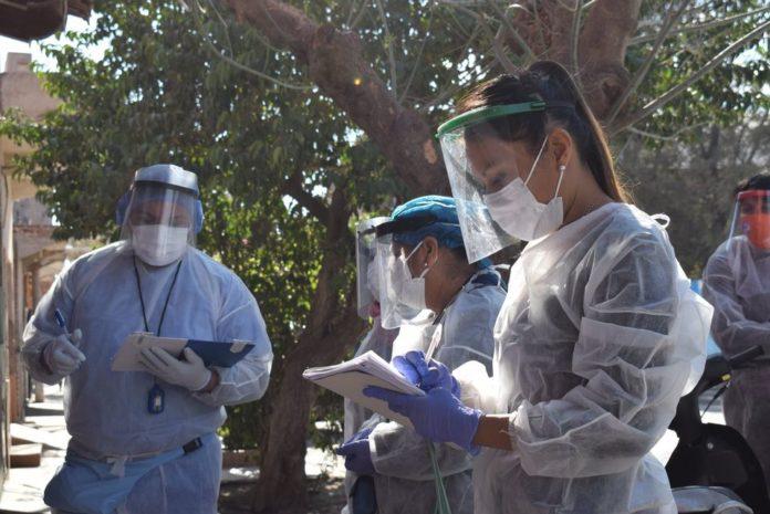 Los casos de coronavirus se expandieron al interior del país.