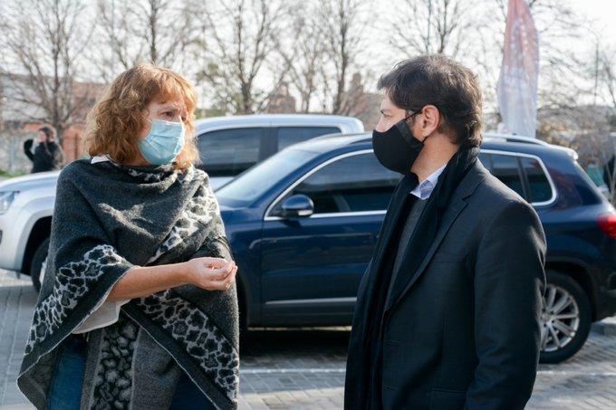 Kicillof lamentó el fallecimiento de Nora Etchenique