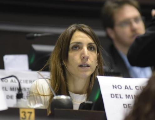 """La diputada Mariana Larroque se contagió coronavirus y se encuentra """"bien"""""""