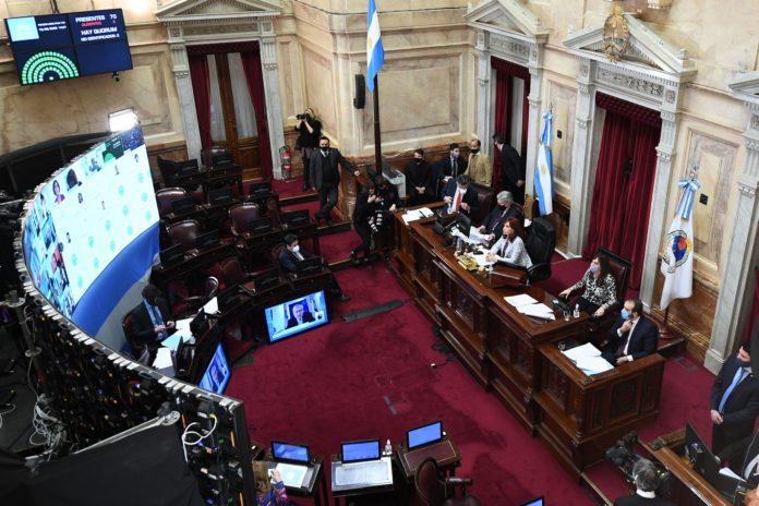 El Senado convirtió en ley la ampliación presupuestaria pedida por Fernández