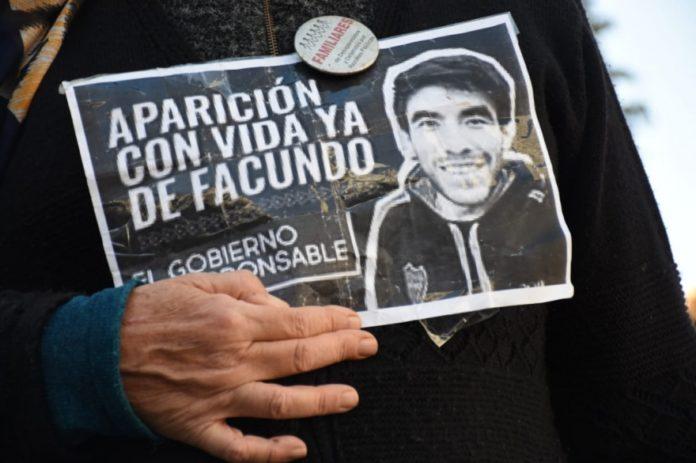 Facundo Astudillo Castro es buscado desde el 30 de abril último. (Archivo)