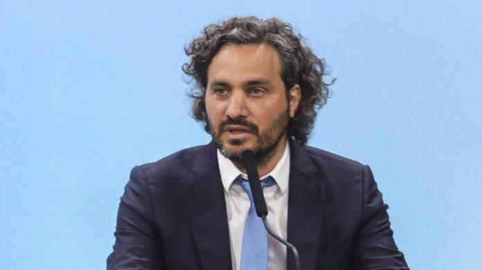 El jefe de Gabinete, Santiago Cafiero. (Archivo)