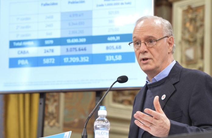 El ministro de Salud bonaerense volvió a cuestionar las decisiones del Gobierno porteño.