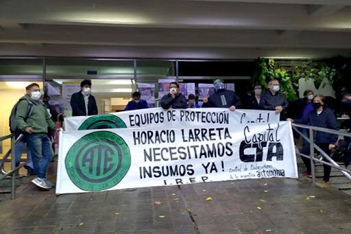 Trabajadores de la sanitad de ATE Capital realizarán un paro el 1 de octubre