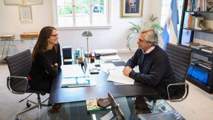 El presidente Alberto Fernández lanzó el Programa Acompañar