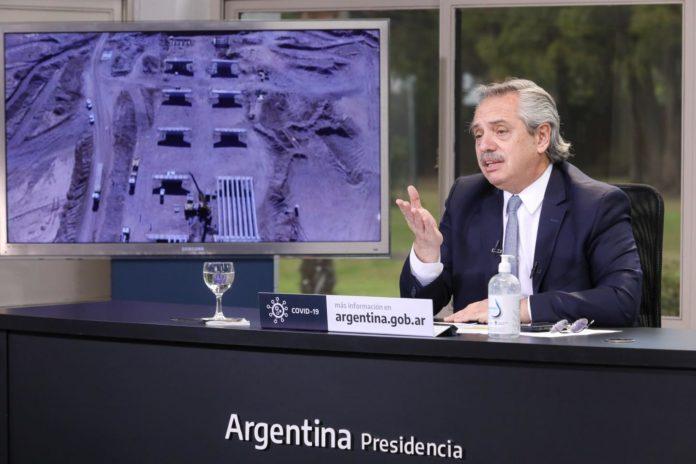 El presidente Alberto Fernández anticipó que esta tarde firmará el decreto que extenderá el aislamiento