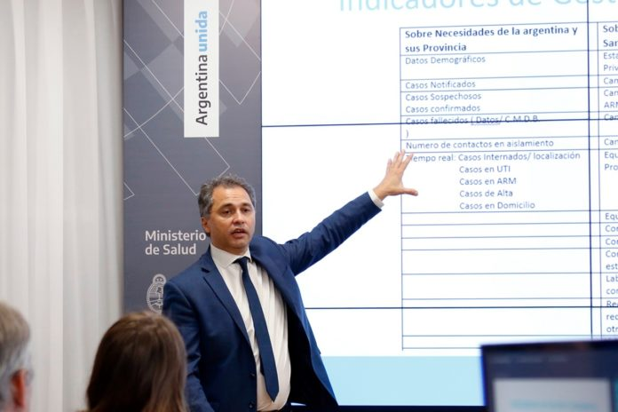 Alejandro Costa, uno de los funcionarios clave de la estrategia sanitaria