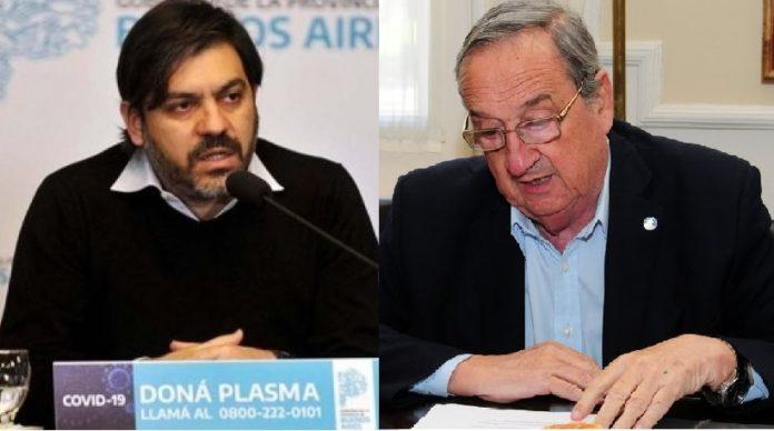 Carlos Bianco volvió a cruzar al intendente de Tandil por el criterio en el manejo de la pandemia