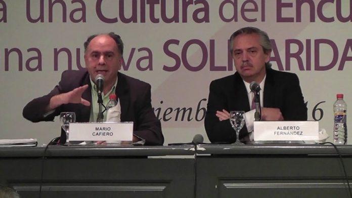Dolor en la política por la muerte de Mario Cafiero, titular del Inaes