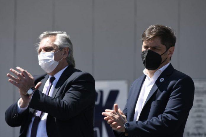 """Tras las críticas, Fernández respaldó a Kicillof: """"Hizo lo que debe hacer un Gobierno honesto"""""""