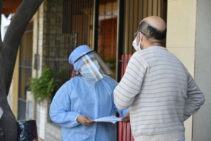 La preocupación por el coronavirus hace varios días se trasladó también a las provincias.