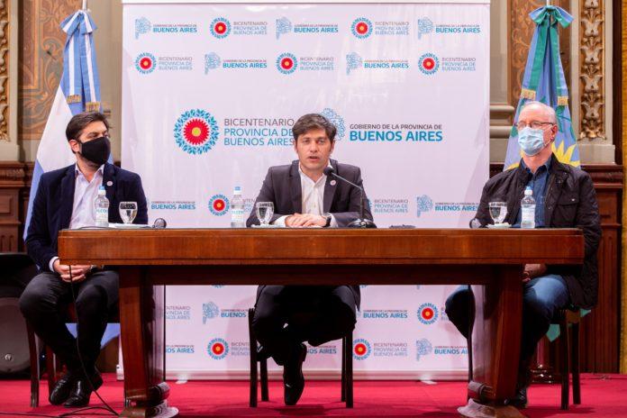 """Kicillof: """"Podemos avanzar de la era de los aislamientos a la era de los protocolos"""""""