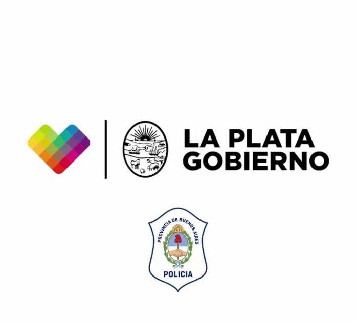 Polémica en La Plata por el logo de la Policía bonaerense en videos municipales