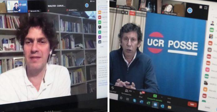 Interna de la UCR: con críticas a Salvador, Posse y Lousteau presentaron la lista
