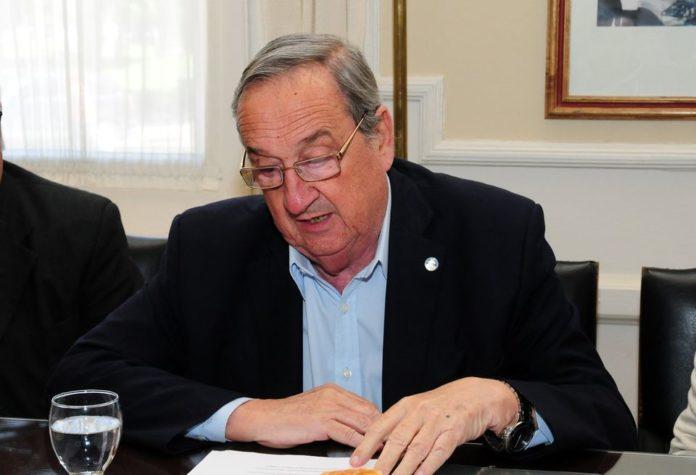 El intendente radical, Miguel Ángel Lunghi