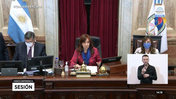 Cristina Kirchner decretó el cupo laboral travesti-trans en el Senado