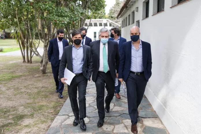 Fernández convoca a Kicillof y Larreta para definir cuarentena