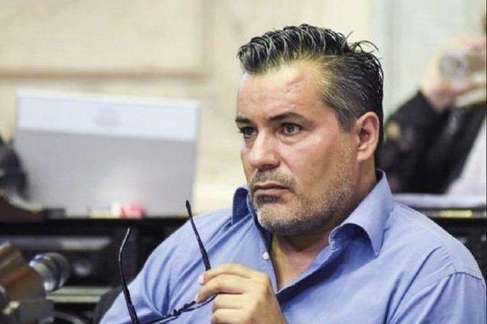 El ahora exdiputado Juan Emilio Ameri