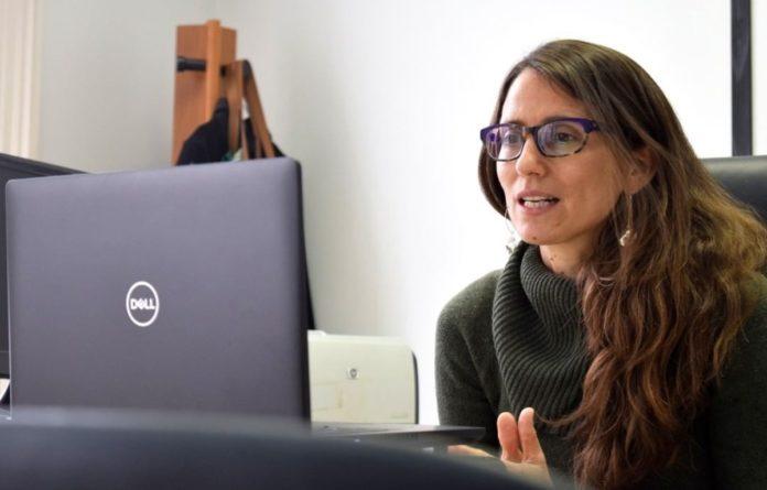 La ministra de las Mujeres, Géneros y Diversidad, Elizabeth Gómez Alcorta. (Archivo)