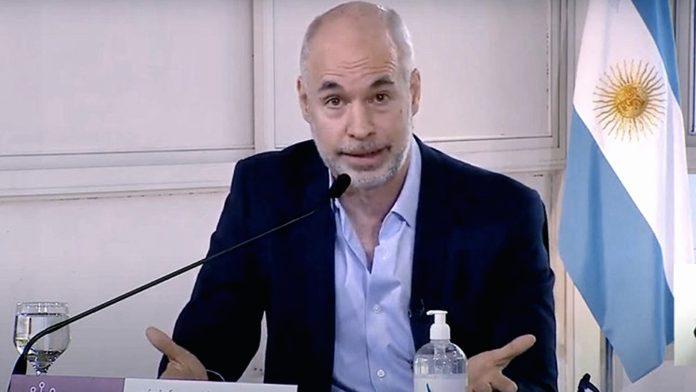 El jefe de Gobierno de la Ciudad, Horacio Rodríguez Larreta inicia el camino legal