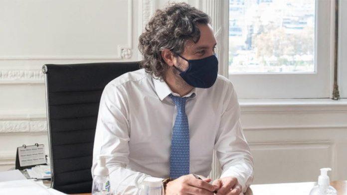 """El jefe de Gabinete, Santiago Cafiero, hizo hincapié en que """"desalentamos y no avalamos ninguna movilización"""". (Archivo)"""