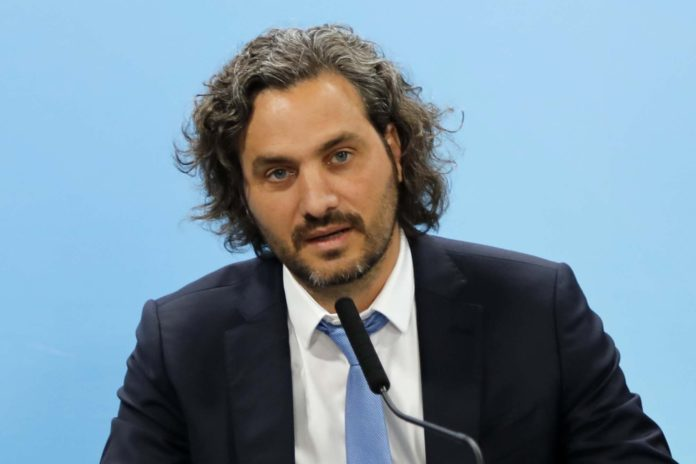 El jefe de Gabinete, Santiago Cafiero. (Twitter)