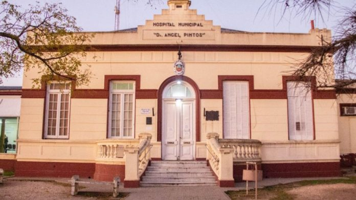 El hospital Municipal Ángel Pintos