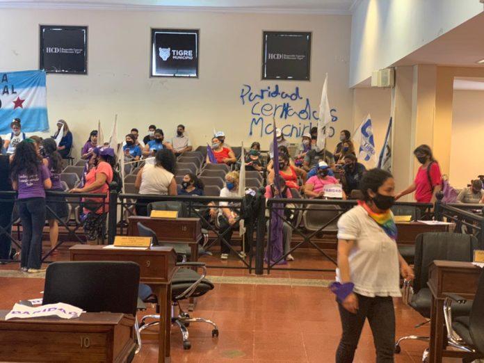 Escándalo en el concejo deliberante de Tigre por la pelea en el Frente de Todos por una banca