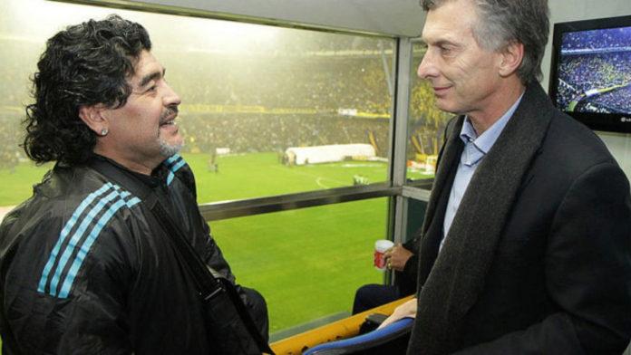 Maradona a Macri: