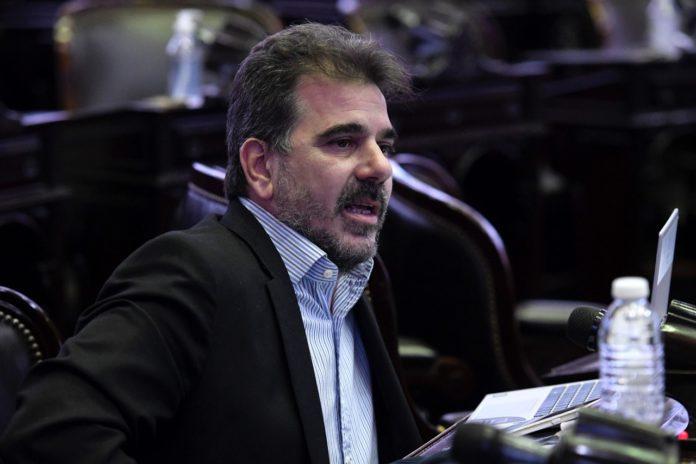 El presidente del bloque de Juntos por el Cambio, Cristian Ritondo