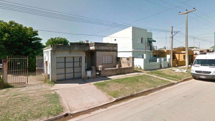 La casa en San Nicolás en la que fue asesinada la mujer de 57 años