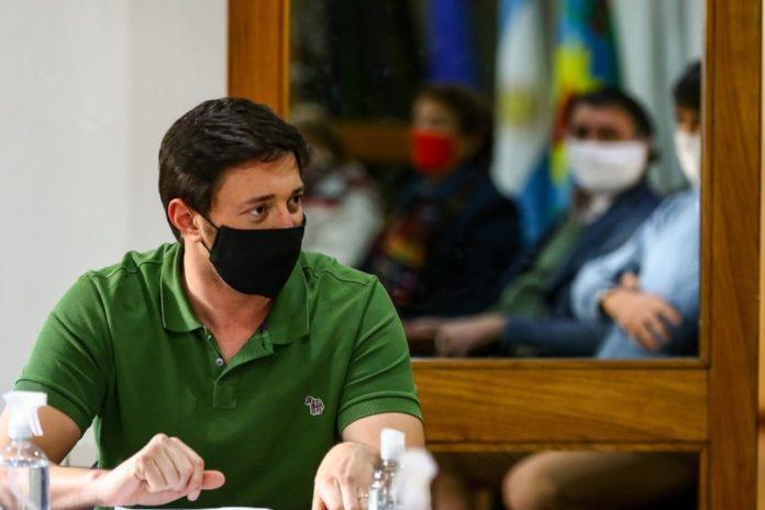 Martín Yeza, el intendente de Pinamar