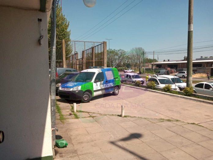 Un joven fue hallado ahorcado días atrás en el Instituto Almafuerte. (Twitter)