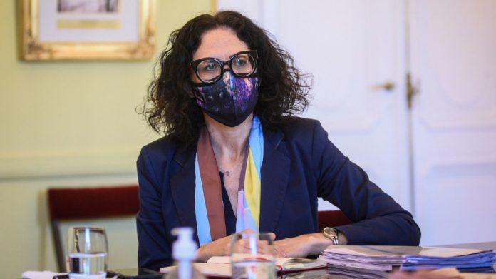 La vicejefa de Gabinete de Ministros, Cecilia Todesca Bocco. (Twitter)