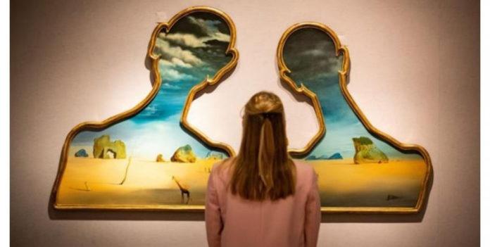 Subastan un díptico de Salvador Dalí que expresa su obsesión por la psicología freudiana